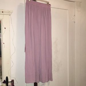 lavender, long skirt from F21